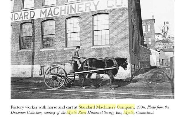 standard machine, mystic river4, ct